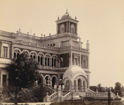 Side view, Makarpura Palace, Baroda